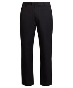 RAEY | Flat-Front Twill Chino Trousers