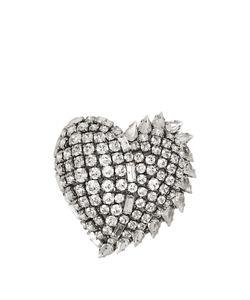 Saint Laurent | Smoking Crystal-Embellished Brooch
