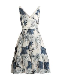 Erdem | Gabyprint Fil Coupé Dress