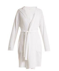 Skin   Waffle-Cotton Jersey Robe