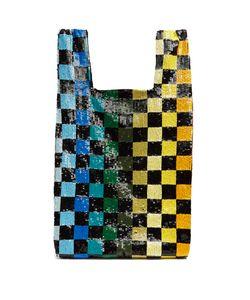 Ashish | Checkerboard Sequin-Embellished Bag