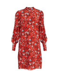 Erdem | Mirela Convertine-Print Silk Crepe De Chine Dress