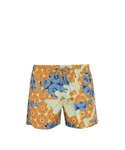 ÒKUN   Ile Camo-Print Swim Shorts