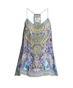 Camilla   The Market-Print Silk Cami Top