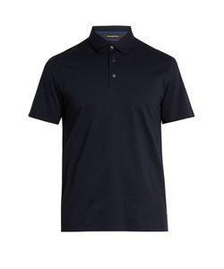 Ermenegildo Zegna | Bi-Colour Cotton Polo Shirt