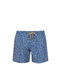 THORSUN   Titan-Fit Bird-Print Swim Shorts