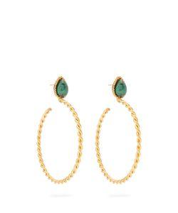 Sylvia Toledano | Malachite And Plated Earrings