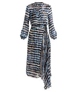 Preen by Thornton Bregazzi | Keene Tie-Dye Print Silk-Blend Jacquard Dress