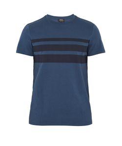A.P.C. | Jimmy Stripe-Print Cotton T-Shirt