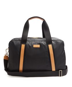 Paul Smith | Bi-Colour Leather-Trimmed Nylon Holdall