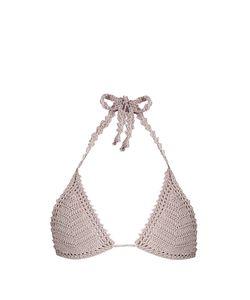 She Made Me | Essential Sliding Crochet Triangle Bikini Top