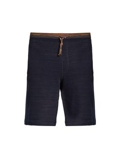 Missoni | Drawstring Cotton-Jersey Shorts