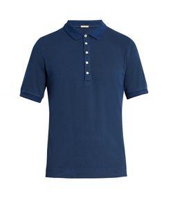 Massimo Alba | Tennis Stretch-Cotton Piqué Polo Shirt