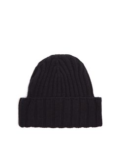 BOTTEGA VENETA | Ribbed-Knit Cashmere Hat