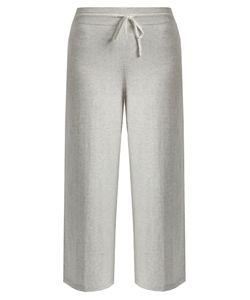 Vince | Wide-Leg Cropped Cotton-Jersey Track Pants