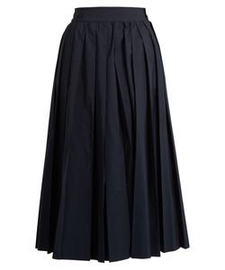 Muveil | Pleated Poplin Culottes