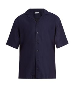 Sunspel | Short-Sleeved Cotton Shirt