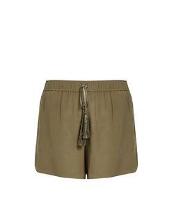 ZEUS + DIONE | Paxi Silk-Crepe Shorts
