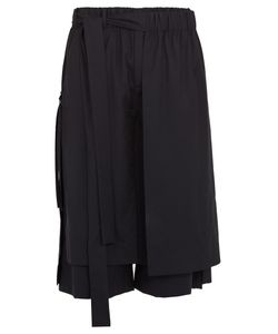 Craig Green | Layered Tie-Side Wool Cropped Trousers