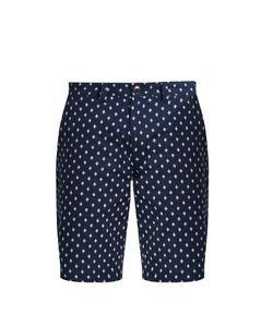 Blue Blue Japan | Slim-Leg Polka-Dot Cotton Shorts