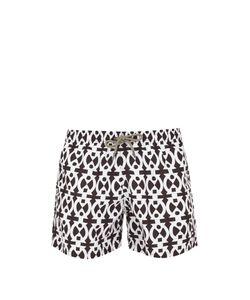 ÒKUN   Adinkra Boa-Print Swim Shorts