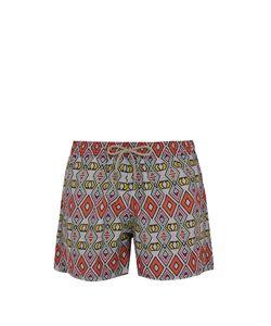 ÒKUN   Masai Tribal-Print Swim Shorts