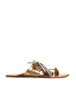 Figue | Scaramouche Leather Tassel Sandals