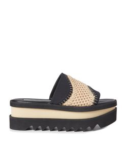 Stella McCartney | Wave-Mesh Platform Slides