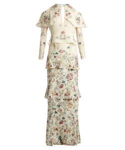 Vilshenko   Annabelleprint Silk Gown