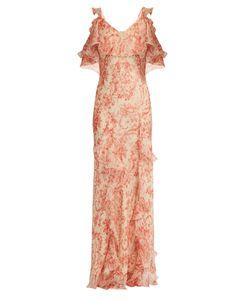 Vilshenko   Ladonna Print Silk Dress