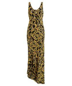 Diane von Furstenberg | Elsden-Print Scoop-Neck Silk-Crepe Dress