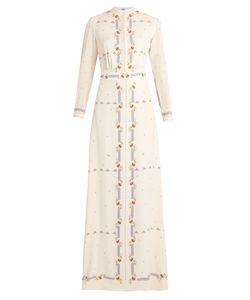 Vilshenko   Florenceprint Silk Gown