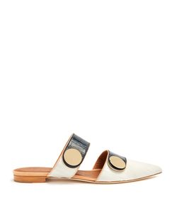 Malone Souliers | X Roksanda Lee Backless Leather Flats