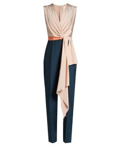 Roksanda | Rokuro Sleeveless Draped-Panel Jumpsuit