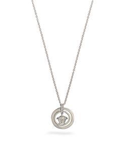 Versace | Double-Circle Medusa Necklace
