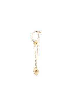 Delfina Delettrez | Diamond Sapphire Emerald Single Earring