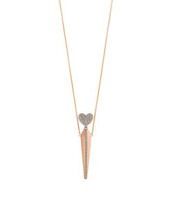 Diane Kordas | Diamond Roseamulette Necklace