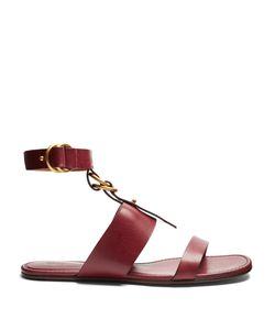 Chloé | Kingsley Leather Flat Sandals