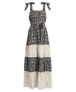 Athena Procopiou | Night Dream Cotton-Blend Maxi Dress