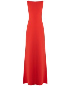 Osman | Charlize Tie-Back Crepe Gown