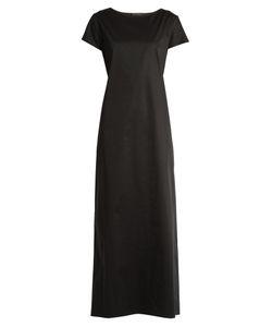 The Row   Muriel Tie-Back Stretch-Cotton Dress