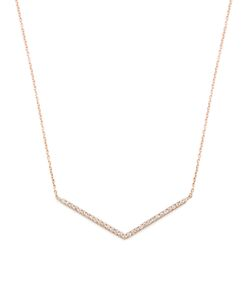 Diane Kordas | Diamond Rosechevron Necklace