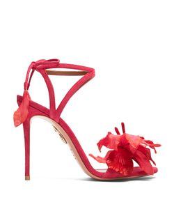 Aquazzura | Flora Suede Sandals