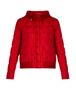 Moncler Gamme Rouge | Nastya Hooded Silk-Twill Jacket