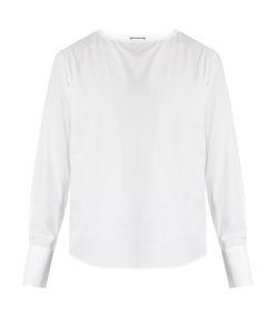 Wooyoungmi | Crew-Neck Cotton-Poplin Shirt