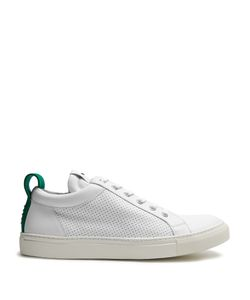 Balmain | Perforated Leather Low-Top Trainers