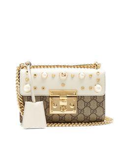 Gucci | Mini Padlock Supreme Embellished Shoulder Bag