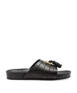 Balmain | Tassel Leather Slides