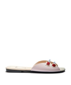 Fendi | Studded Leather Slides