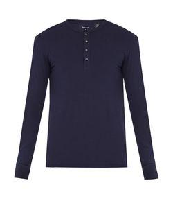 Paul Smith | Cotton-Jersey Henley Pyjama Top